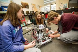 Aspen's Robo Yetis Put Engineering prowess to the test