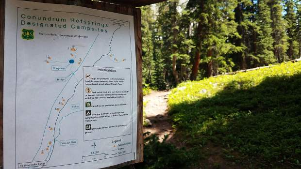 Conundrum Hot Springs reservations plan details rollout for spring