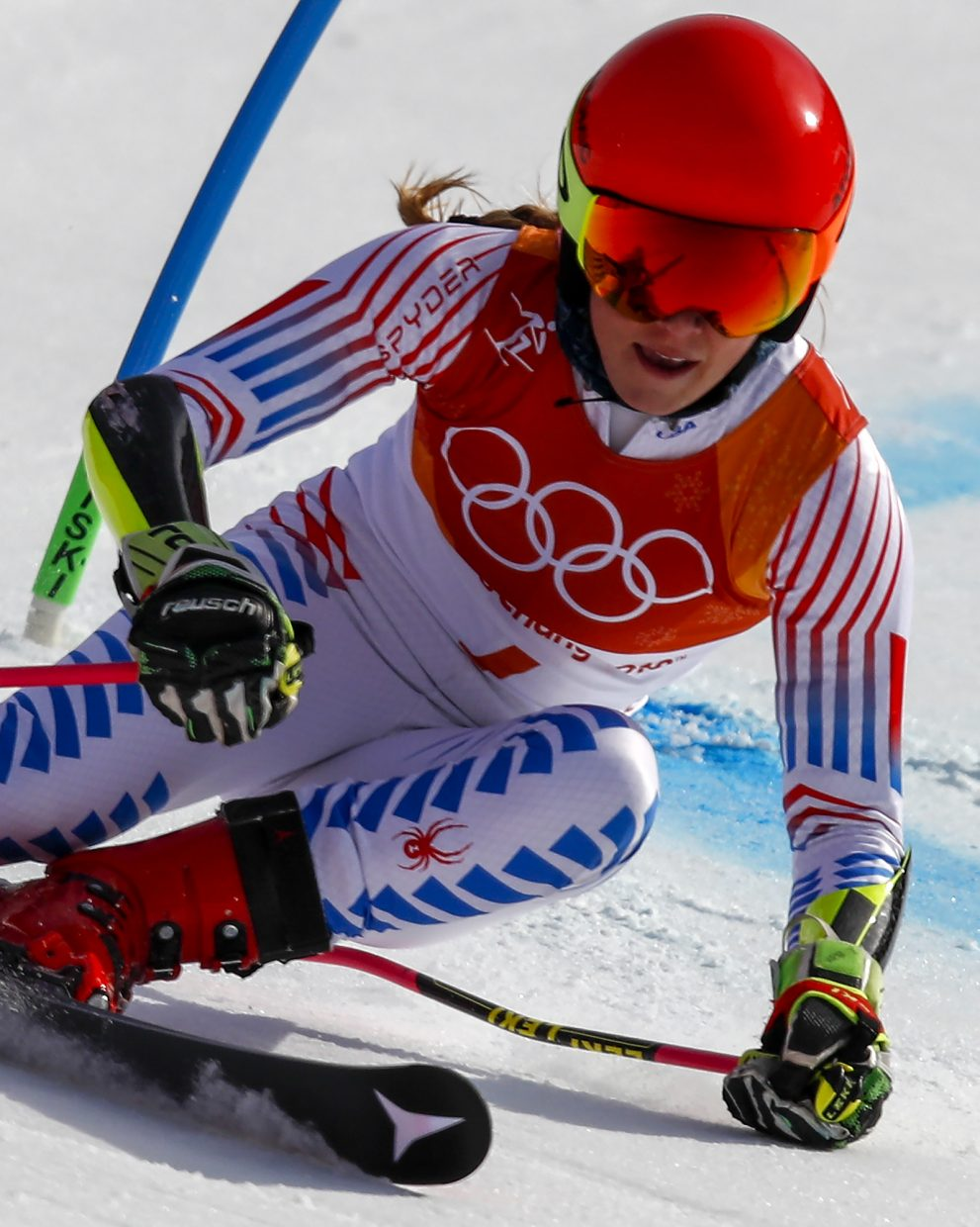 Vail's Mikaela Shiffrin wins gold in her first race of ...