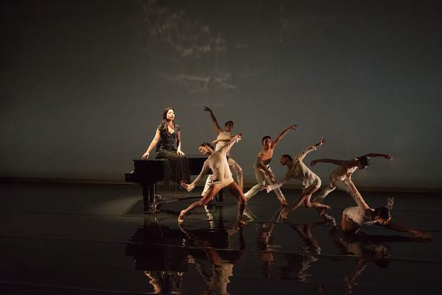 Pianist Joyce Yang has partnered with Aspen Santa Fe Ballet for an evening of dance and live piano on Saturday at the Aspen District Theatre.