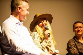 Aspen Olympians come together to talk experiences on Tuesday at Wheeler