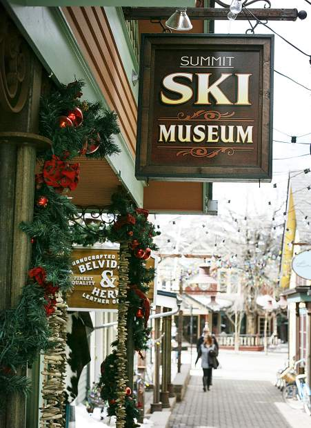 The Summit Ski Museum off South Main Street in Breckenridge.