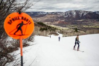 Aspen stakes claim as premier human-powered playground as skiers ditch lifts, traffic to walk uphill