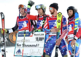 AJ Ginnis outduels David Chodounsky for World Pro Ski Tour win in Snowmass