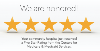 AVH receives a rare Five-Star Rating from Centers for Medicare & Medicaid Services