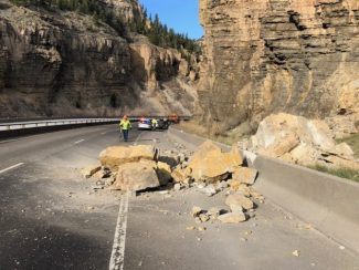 Beware of rockfall in Glenwood Canyon as spring approaches