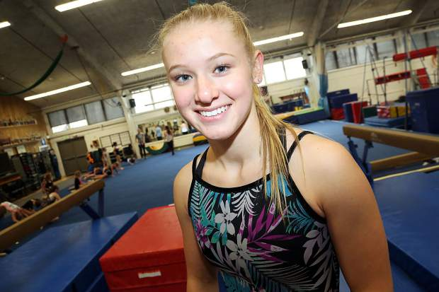 Morgan Leasure, a junior at Aspen High School, will represent Aspen Gymnastics this weekend at the Women's Junior Olympic National Championships in Cincinnati, Ohio.