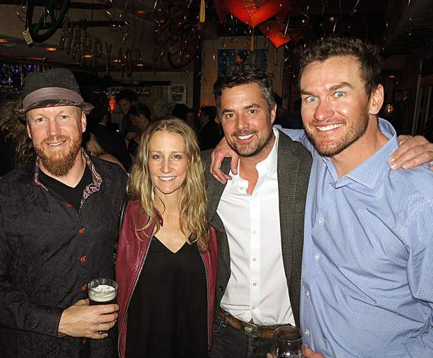 Cal and Monica Viall with Colter Smith and Ryan Thompson.