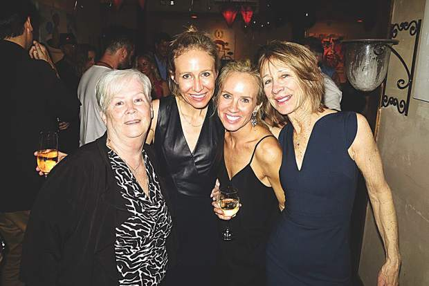 Joan Bory, Maggi Thompson, Mae Bory and Lynn Whitmer.