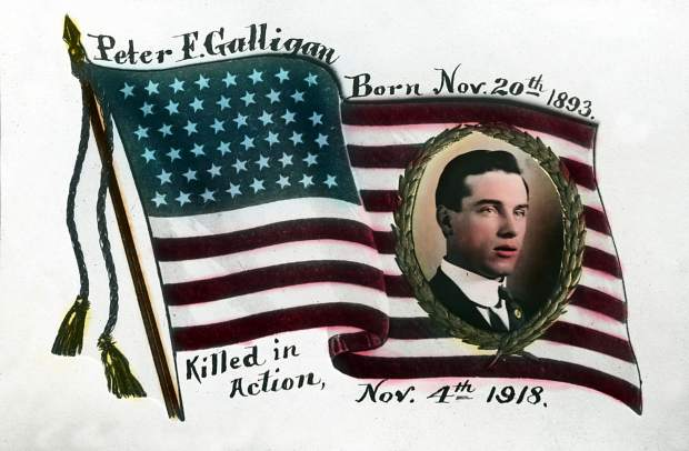 Cpl. Peter Galligan died in World War I, just a week before Armistice Day. The former Aspen American Legion was named in his honor.