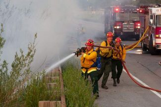 Avon fire doused in minutes Monday; woman charged in Monday's East Vail campground fire