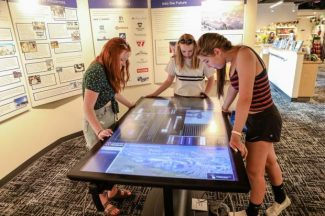 Touch-screen table at Colorado Snowsports Museum tells story of state's ski areas