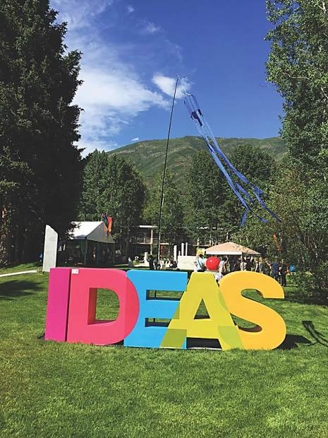 The Aspen Ideas Festival, based at the Aspen Meadows, runs through July 2.