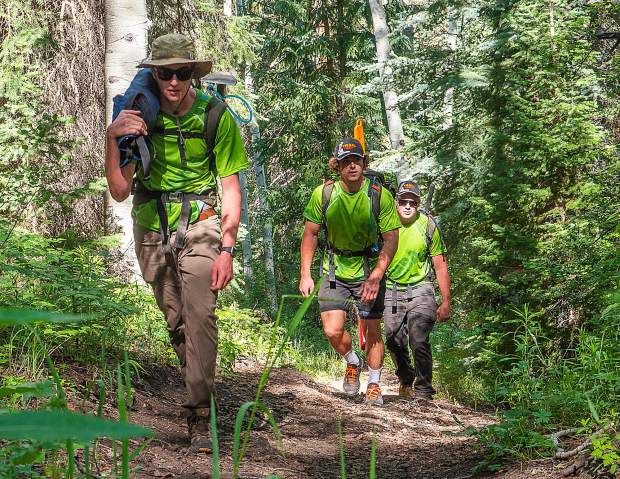 Mountain bike association pays the price to clear trails from Aspen to New Castle
