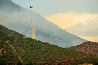 Firefighters gain ground on Lake Christine Fire, expect 30% containment late Sunday
