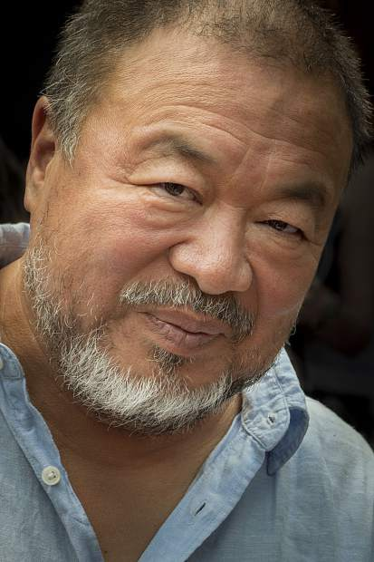 Artist and activist Ai Weiwei was in Snowmass Village and Aspen on Wednesday to discuss his work, including his time in refugee camps.