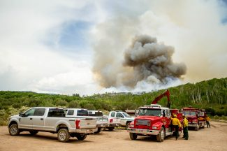 Polis, incoming governors look at wildfires, natural disasters as priority