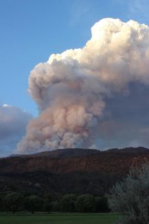 Lake Christine Fire grows to 8,315 acres; community meeting set for Friday night