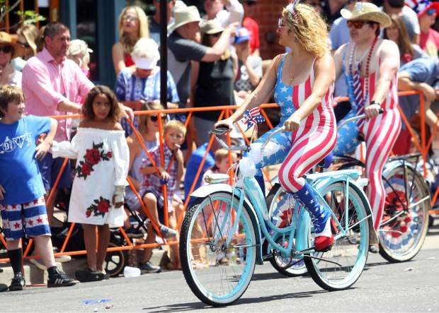 Pictures from the Aspen Fourth of July parade on July 4, 2018.