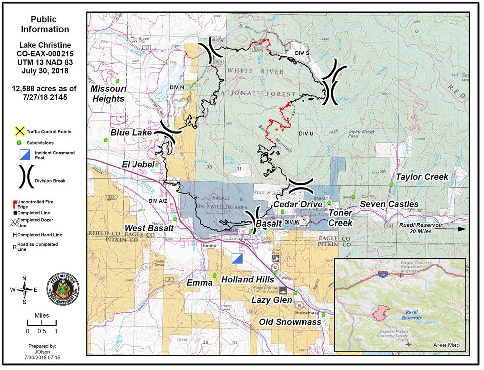 Lake Christine Fire closer to full containment; community meeting