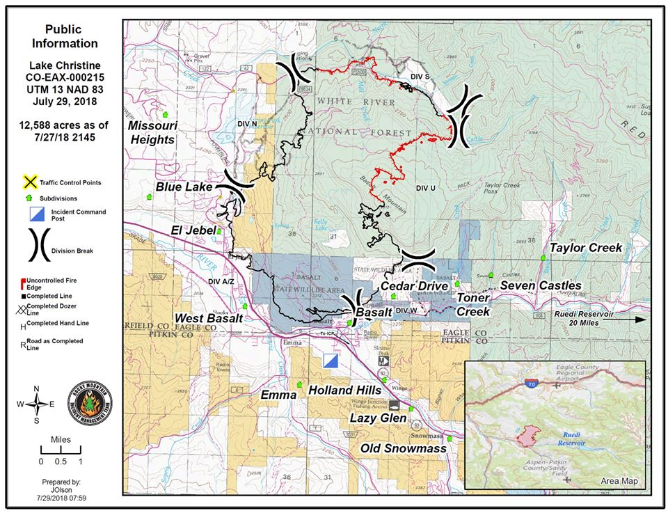 Lake Christine Fire 72 percent contained; Neil Diamond gives ...