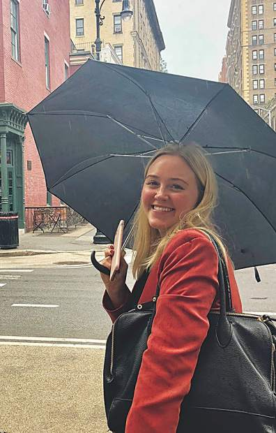 Aspen-born, NYC-based public relations pro Betsy Carlson on the move in Manhattan.