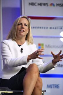 Homeland Security head Kirstjen Nielsen tells Aspen crowd 'we have to fix' immigration system