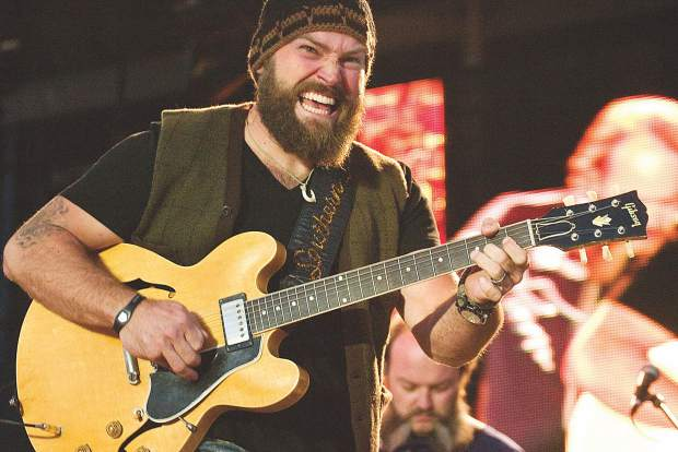The Zac Brown Band photographed at the 2011 Jazz Aspen Snowmass Labor Day festival. The band will headline again on Sunday night.