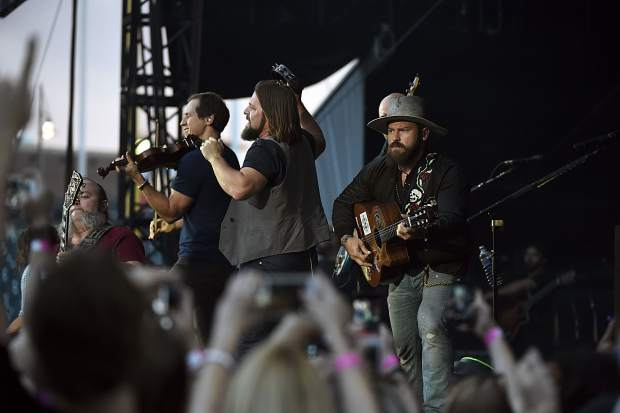 DENVER, CO - JULY 3: Coors Field celebrating 20 years hosted the Zac Brown Band in its first major stand-alone concert July 3, 2015 at Coors Field. The band played to a crowd of 42,00. (Photo By John Leyba/The Denver Post)