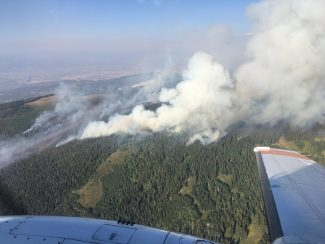 Cache Creek Fire nears 1,400 acres; more than 150 firefighters on scene