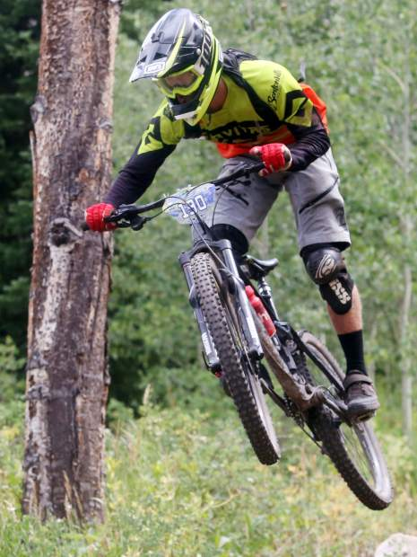 Big Mountain Enduro Finals from Sunday, Aug. 5, 2018, in Snowmass. (Photo by Austin Colbert).
