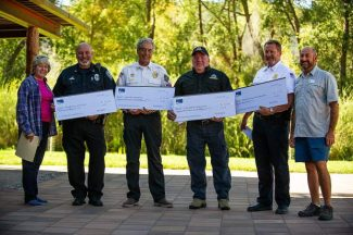 Conservancy raises $121,550 for Lake Christine Fire first responders — to prepare for or prevent next disaster