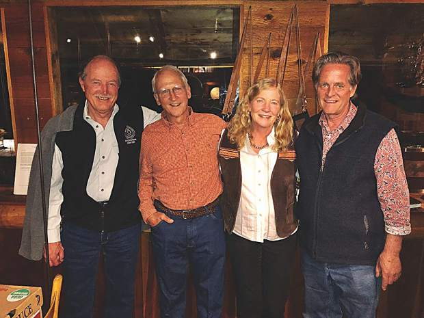 The Toklat Summer Dinner Series presented by ACES features special guests such as Michael Kinsley, Tom and Jody Cardamone and Kent Mace, shown here at the most recent one on Aug. 21.