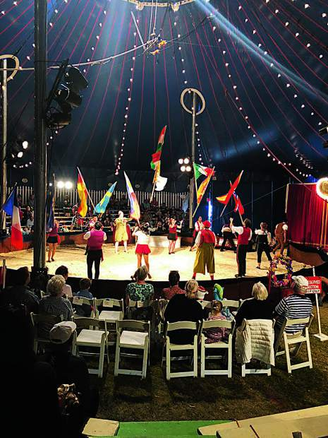 The Zoppé Family Circus in Snowmass Village over the weekend of Aug. 17-19, entertaining audiences of all ages under the big top tent.