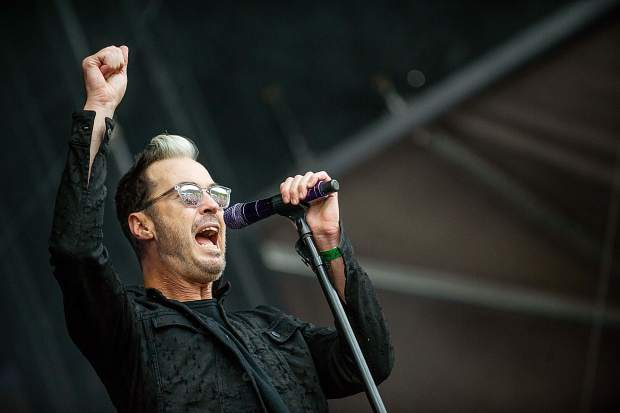 Fitz and The Tantrums performing for JAS Labor Day Experience on Saturday.