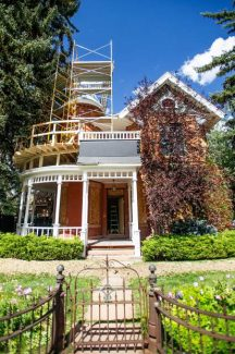 Aspen's iconic Victorian going under significant renovation