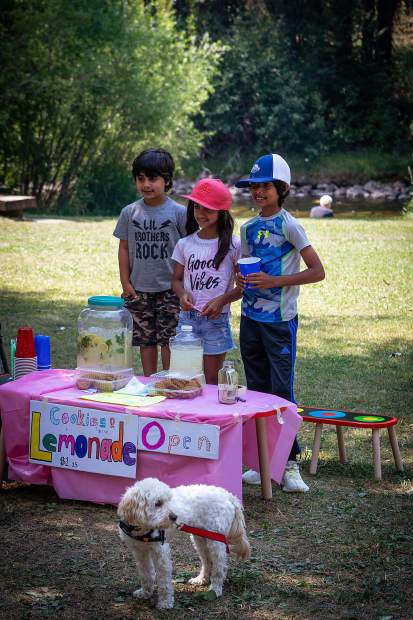 Siaara Bhatia and her brothers recently cooled down Aspen with fresh lemonade along the Rio Grande Trail and raised $75 for the Aspen Animal Shelter.