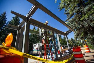 Bridge to Aspen project enters final month on time, on budget