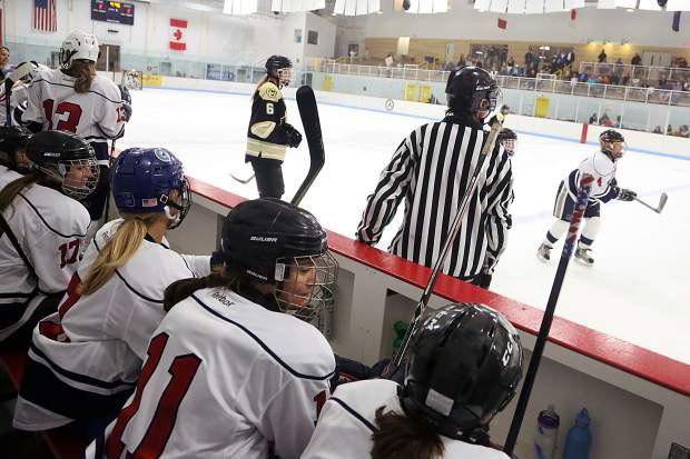 Stirling Cup hockey game on Saturday, Sept. 22, 2018 at Lewis Ice Arena. (Photo by Austin Colbert/The Aspen Times).