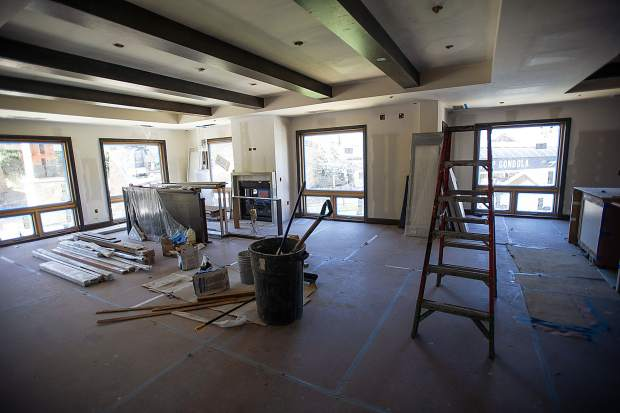 One of the private residences in the new Limelight Hotel in Snowmass.