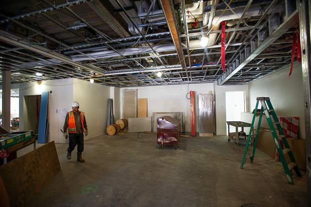 The lobby area for the new Limelight Hotel coming to Snowmass.