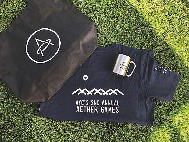 Leave it to Aether to have great gift bags for all the participants and volunteers.