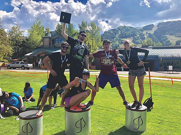 Team 17 on top: the champions of the 2018 Aether Games!