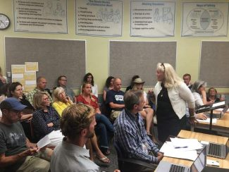 Parents demand change at Aspen School District, fill school board meeting