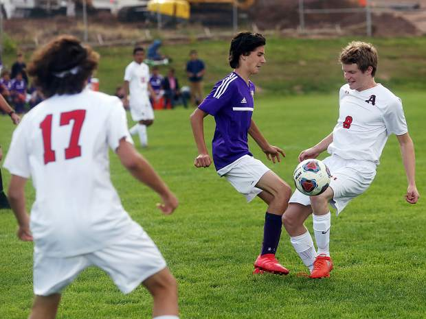 Aspen vs. Basalt soccer on Thursday, Sept. 6, 2018.