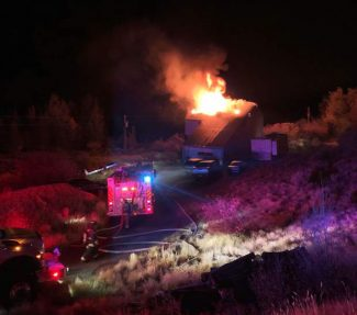 House fire in Old Snowmass displaces 7 Tuesday night