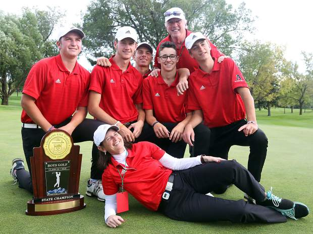 Class 3A state golf tournament on Tuesday, Oct. 2, 2018 at Boulder Country Club.