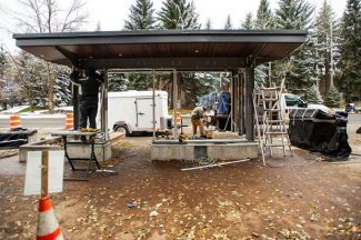Entrance to Aspen construction done; popular bus stops to reopen Thursday