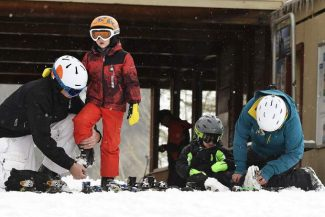 Fresh snow shines at Sunlight's opening day