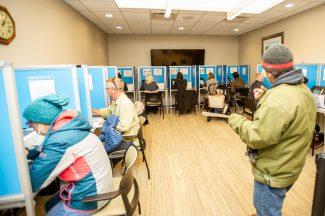Voter turnout high in Pitkin County prior to polls closing